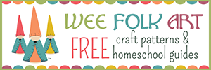 Wee Folk Art: free craft patterns and homeschool guides